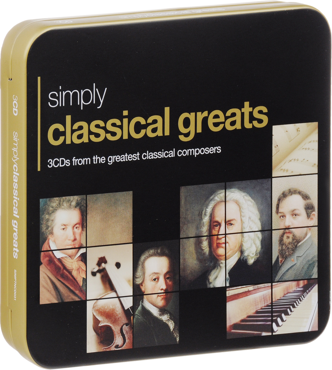 Simply Classical Greats (3 CD)