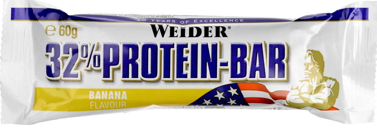 Батончик протеиновый Weider 32% Protein Bar, банан, 60 г30807Weider 32% Protein Bar - это батончик, несущий в составе 32% высококачественного протеина. Он имеет много протеинов и мало жира для утоления легкого голода между приемами пищи. Может заменить протеиновый коктейль для увеличения белков в дневном рационе.Рекомендации по применению:Идеально употреблять между приемами пищи или как десерт, до и после тренировки.Состав: сироп глюкозы, молочный протеин, сироп фруктозы, гидрогенерированное растительное масло, гидролизат из коллагена протеина, декстроза, лимонная кислота, ароматизаторы, соль, витамин С (аскорбиновая кислота), высушенный яичный белок, витамин Е (ди-альфа токоферол), пантотеновая кислота (соль кальция), тиамин (витамин В1, HCl), рибофлавин (витамин В2), витамин В6 (пиридоксин HCl), E122.Товар сертифицирован.Как повысить эффективность тренировок с помощью спортивного питания? Статья OZON Гид