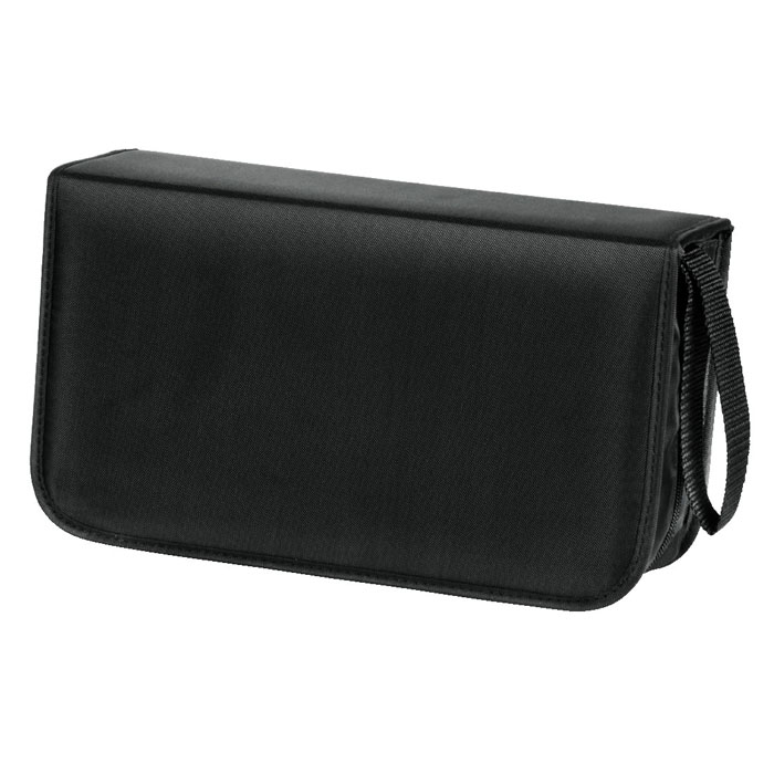 Hama H-33833 Nylon, Black сумка для CD (120 шт) сумка для cd udg ultimate cd wallet 128 black