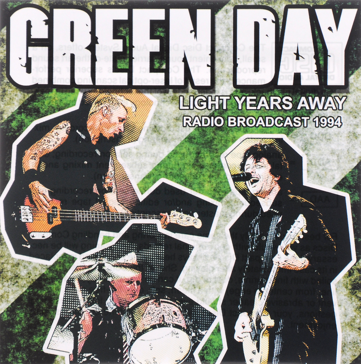 Green Day. Light Years Away. Radio Broadcast 1994