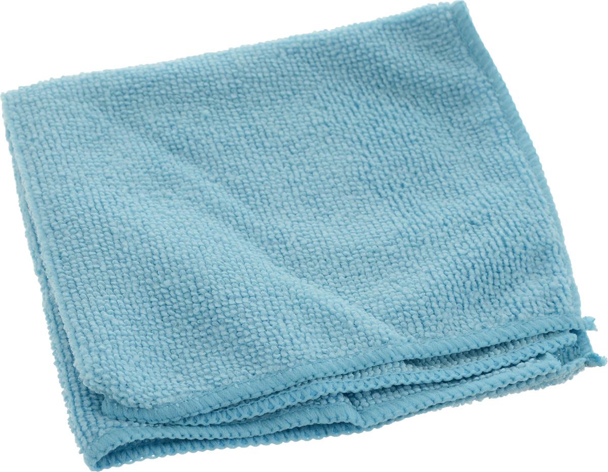 Салфетка универсальная Сelesta, из микрофибры, цвет: голубой, 30 х 30 см4768_голубойУниверсальная салфетка Celesta предназначена для сухой и влажной уборки, подходит для ухода за любыми поверхностями. Изделие изготовлено на 80% из полиэстера и на 20% из полиамида. Благодаря специальной структуре волокон микрофибры позволяет очищать поверхность без использования моющих средств. Салфетка обладает отличными впитывающими свойствами. Не оставляет разводов и ворсинок.Размер салфетки: 30 см х 30 см.
