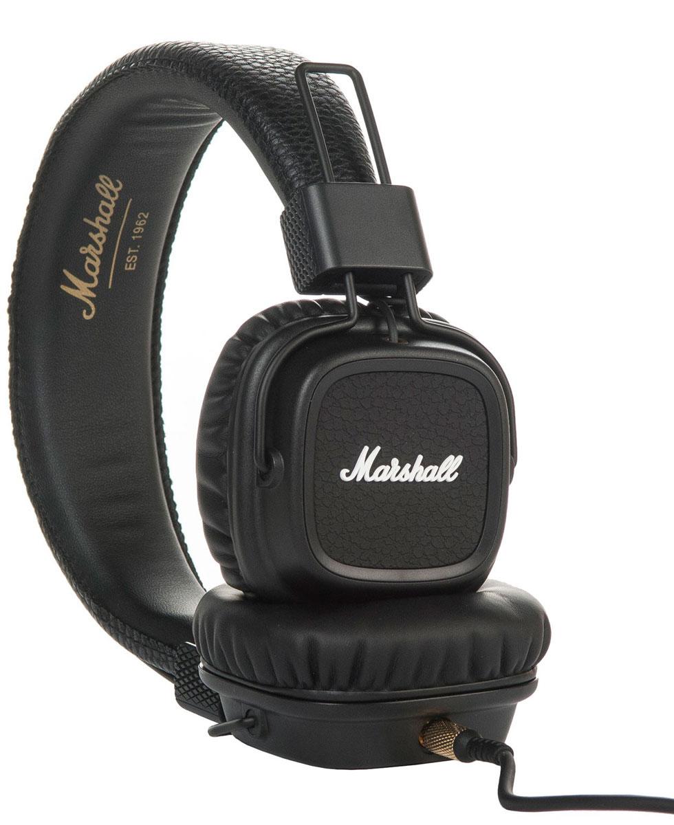 Marshall Major II, Black наушники7340055309851Встречайте Marshall Major II - второе поколение легендарных наушников! Более глубокие басы, четкие высокие частоты, низкий уровень искажений и улучшенная эргономика - разработчики Marshall постарались на славу.Важная особенность данной модели - полностью отсоединяемый кабель, который можно подключать как с левой стороны, так и с правой. Шнур оснащен микрофоном и пультом управления, что позволяет вам всегда оставаться на связи. На каждой чаше находится разъем 3,5 мм, к которому можно подключить динамики или другие наушники. Делитесь своей музыкой в любом месте и в любое время.Ставший классикой дизайн Major теперь приобрел округлые формы и более прочное виниловое покрытие. В остальном Marshall остался верен себе: логотип на чашках наушников, металлические детали золотого цвета и характерная складная конструкция.