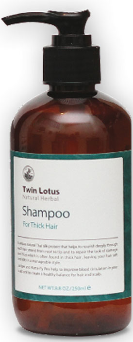 Twin Lotus Шампунь Natural (Растительный : питание и блеск для жирных,густых волос), 250 мл рэмо lotus 450