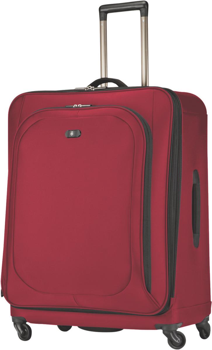 Чемодан Victorinox Hybri-Lite, 111 л, цвет: красный. 31317303 + ПОДАРОК: Нож Tinker чемодан samsonite чемодан 55 см lite biz