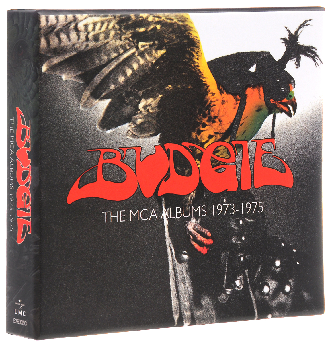 Budgie Budgie. The MCA Albums 1973-1975 (3 CD) sun records 9 classic albums 4 cd