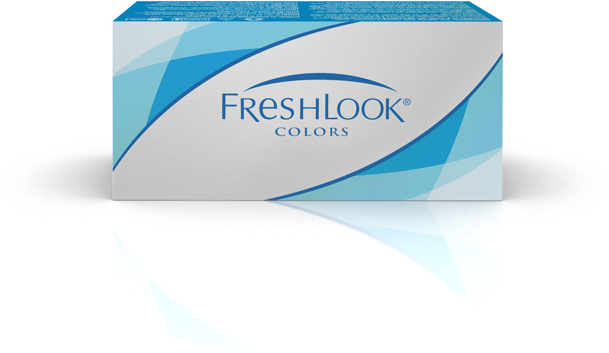Аlcon контактные линзы FreshLook Colors 2шт -3.50 Blue