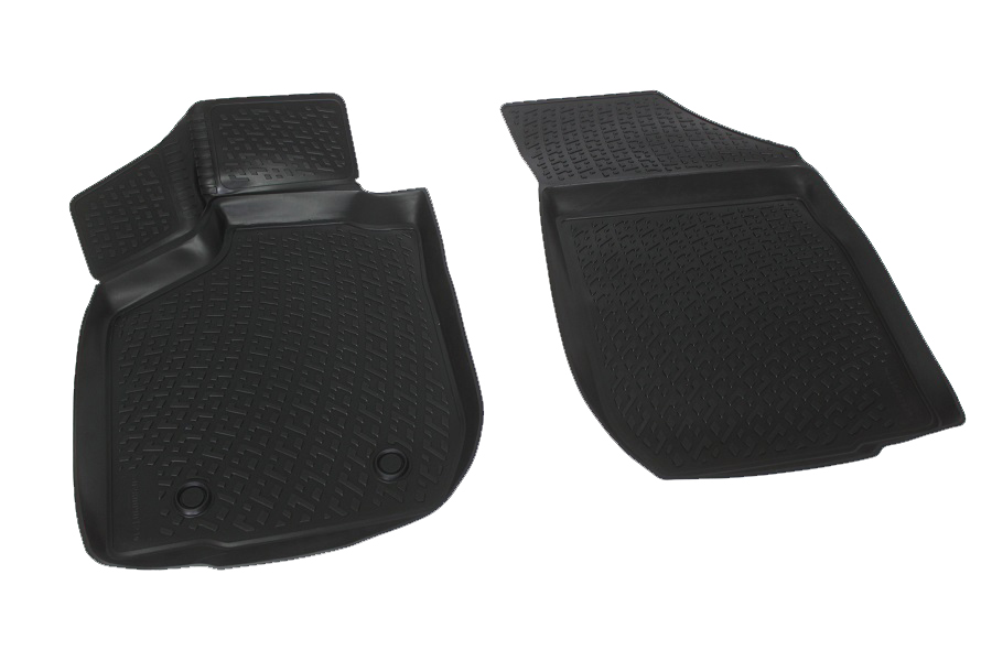 Коврики в салон автомобиля L.Locker, для Lada Largus (12-), передние0280090201Коврики L.Locker производятся индивидуально для каждой модели автомобиля из современного и экологически чистого материала. Изделия точно повторяют геометрию пола автомобиля, имеют высокий борт, обладают повышенной износоустойчивостью, антискользящими свойствами, лишены резкого запаха и сохраняют свои потребительские свойства в широком диапазоне температур (от -50°С до +80°С). Рисунок ковриков специально спроектирован для уменьшения скольжения ног водителя и имеет достаточную глубину, препятствующую свободному перемещению жидкости и грязи на поверхности. Одновременно с этим рисунок не создает дискомфорта при вождении автомобиля. Водительский ковер с предустановленными креплениями фиксируется на штатные места в полу салона автомобиля. Новая технология системы креплений герметична, не дает влаге и грязи проникать внутрь через крепеж на обшивку пола.
