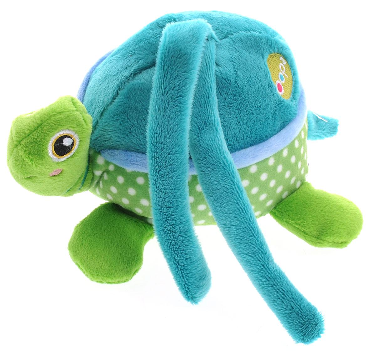 Oops Развивающая музыкальная игрушка-подвеска Черепаха мягкие игрушки oops игрушка развивающая улитка