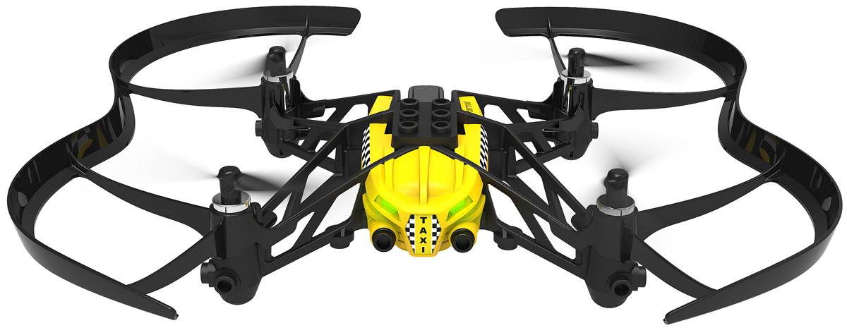 Parrot Квадрокоптер на радиоуправлении Minidrone Airborne Cargo Travis