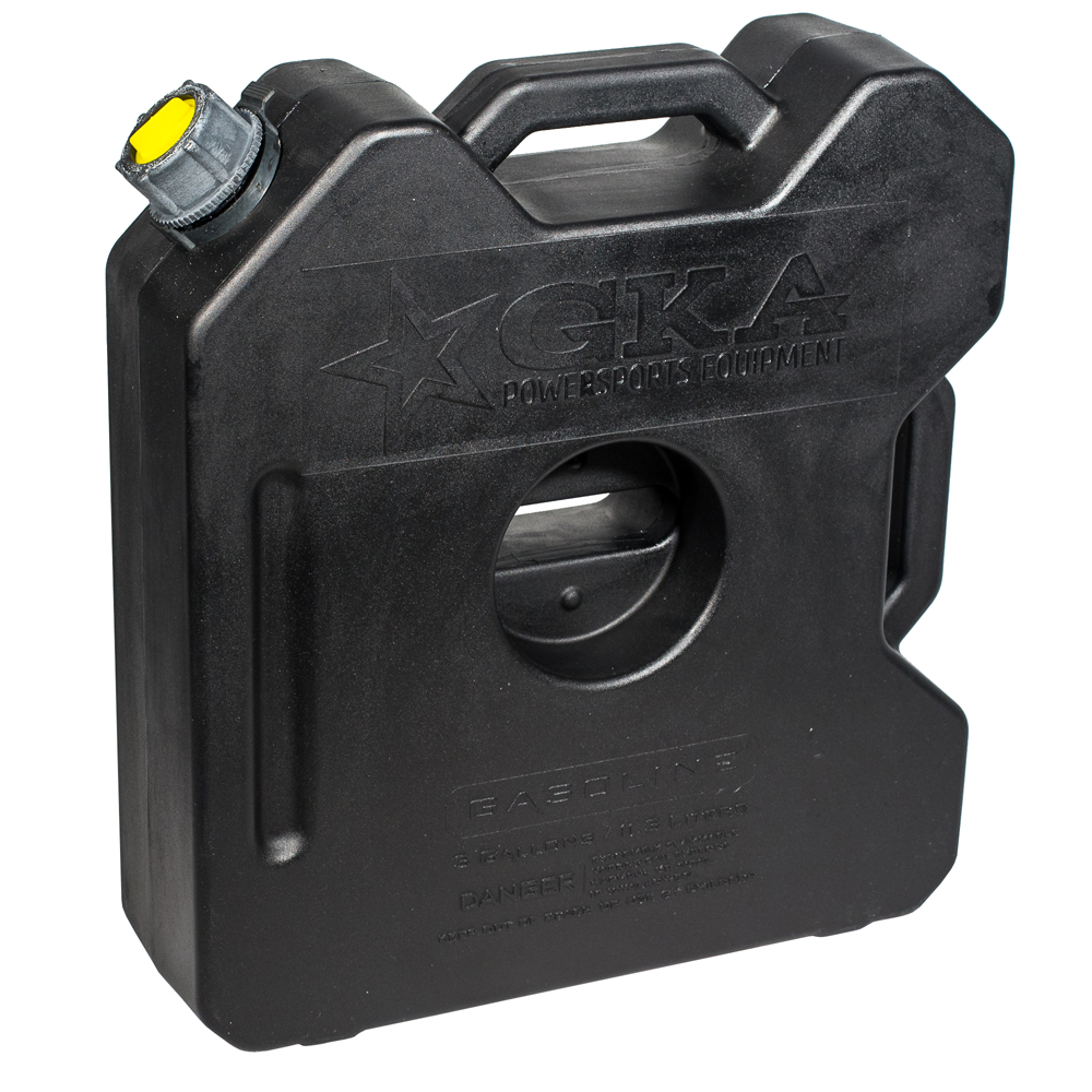 Канистра экспедиционная GKA, цвет: черный, 12 лGKA12BКанистра экспедиционная плоская 12 литров GKA. Изготавливаются из высокопрочных полимеров. Предназначена для любого вида топлива и воды.Укомплектованы гибким носиком для розлива жидкостей. Уплотнитель и антивибрационная система крышки не позволяет жидкости расплескиваться.