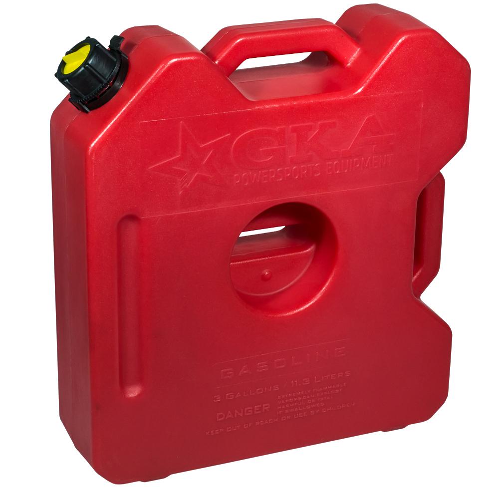 """Канистра экспедиционная """"GKA"""" вмещает 12 литров жидкости. Изготавливается из  высокопрочных полимеров. Предназначена канистра для любого вида топлива и воды.  Изделие укомплектовано гибким носиком для розлива жидкостей. Уплотнитель и  антивибрационная система крышки не позволяет жидкости расплескиваться."""