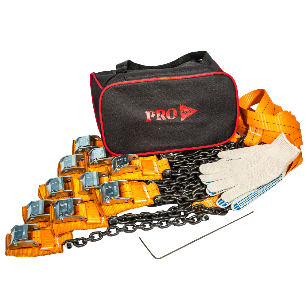 Браслеты противоскольжения PRO-4x4 Heavy, для внедорожника, 10 штPRO-BPS-000310Браслеты противоскольжения будут незаменимыми помощниками во время выездов на природу, на охоту или рыбалку, поездок в деревню и на дачу. Технические характеристики браслетов PRO-4х4:Размер шин: от 205/55 до 285/85.Размер диска (радиус): от R15 до R21.Вес: 2.94 кг.Длина браслета: 111 см.Длина ленты: 68 см.Ширина ленты: 3.5 см.Длина цепи: 31.5 см.Толщина цепи: 6 мм.Защита диска: спец. накладка.Применяется для а/м массой до 5000 кг.
