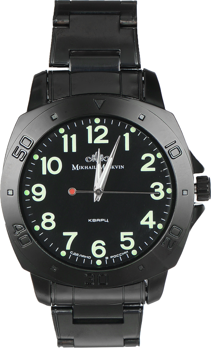 Часы наручные мужские Mikhail Moskvin, цвет: черный. 1125A11B5