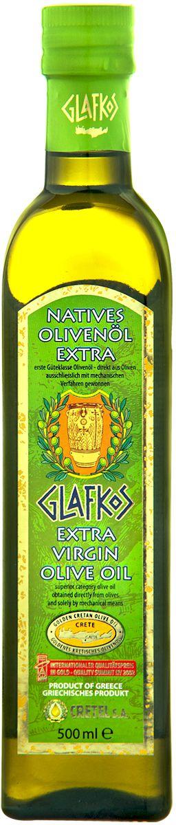 Glafkos Extra Virgin масло оливковое экстра класса, 0,5 л (ст/б)16006Оливковое масло Glafkos превосходный натуральный диетический продукт, который снижает уровень вредного холестерина в крови. Чем меньшей обработке подвергаютсяпродукты питания, тем они целебнее для организма, тем лучше их вкус. В отличие от других растительных масел, в процессе приготовления оливкового масла, в стадии отжима Extra Virgin не используется нагревание, которое разрушает ряд полезных для организма веществ. Именно поэтому в нем содержится гораздо больше антиокислителей, которые защищают клетки от стресса и окисления.Масло Glafkos является органическим, и в максимальной степени насыщенным полезными веществами. В нем содержится около 100 активных веществ (более всего витаминов Е, А и С)и мононенасыщенных жировыми кислотами, которые позволяют быстро восстанавливать силы. Оливковое масло Glafkos – получено путём первого холодного механического отжима, благодаря чему масло сохранило все полезные витамины и минеральные вещества, содержащиеся в оливках, оно произведено исключительно из оливок отборного качества сорта Коронеики, плоды внимательно и бережно собраны на южном побережье о. Крит в районе Мессара (Греция), который является одним из наиболее благоприятных мест на планете для выращивания оливок. Масло Glafkos – имеет насыщенный мягкий вкус олив, слегка горьковатое послевкусие, приятный пряный аромати яркий золотисто-зеленый цвет, относится к классу Extra Virgin и является абсолютно натуральным продуктом. Не содержит никаких примесей и добавок. Продукт становится мутным при низкой температуре, что не влияет на качество оливкового масла. Масло переходит в нормальное состояние при комнатной температуре. Один из главных показателей качества оливкового масла – кислотность, в оливковом масле Glafkos Extra Virgin не превышает 0,8%, а в классе Premium этот показатель не превышает 0,3%.