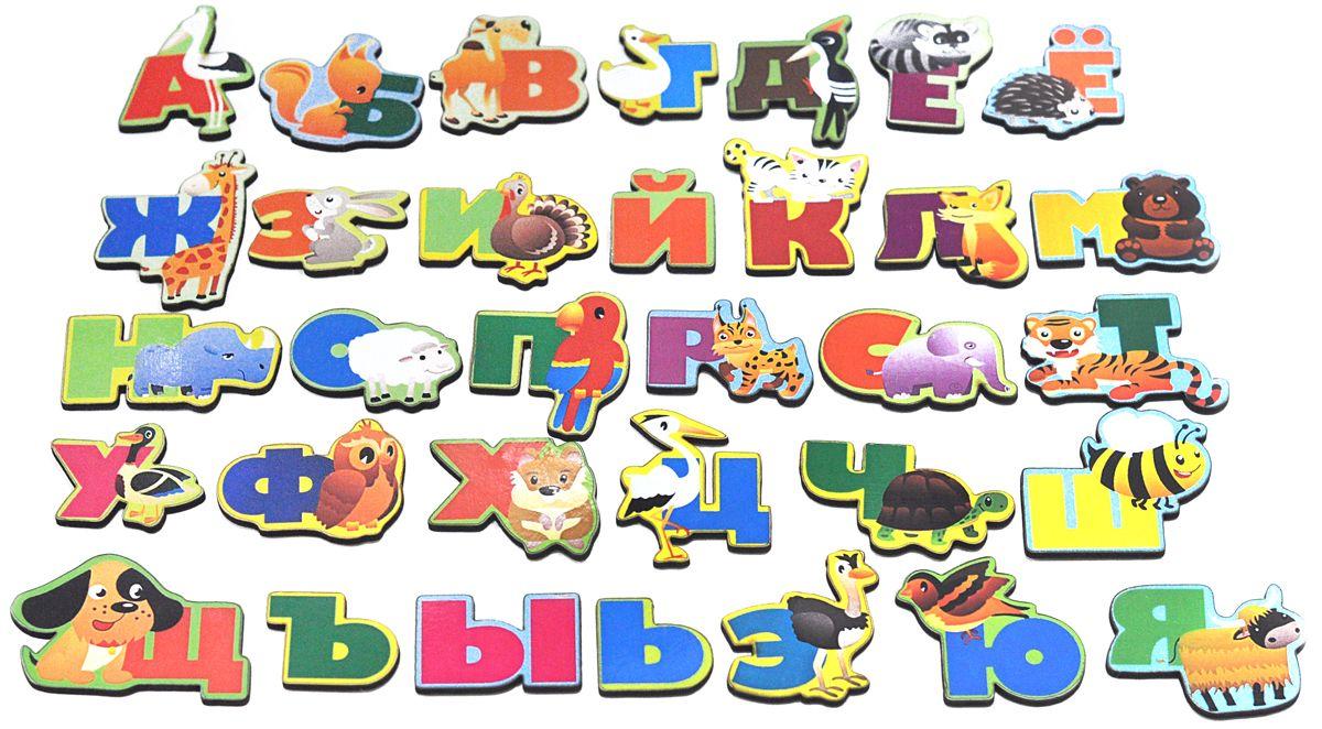 Фабрика Мастер игрушек Обучающая игра-алфавит Животный мир