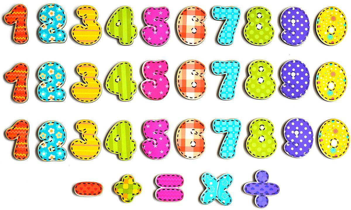 Фабрика Мастер игрушек Магнитная игра Учимся считать учимся считать повторяем цифры считаем и сравниваем раскраска