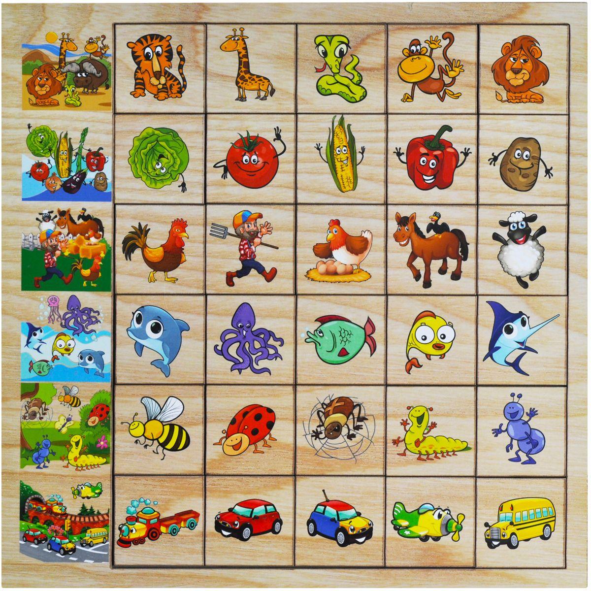 Фабрика Мастер игрушек Обучающая игра Ассоциации