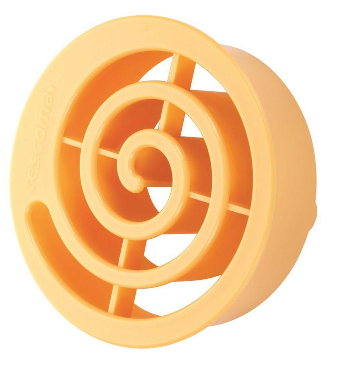Форма для выпечки булочек Tescoma Улитка, 9 х 9 х 3 см630107Форма Tescoma Улитка прекрасно подходит дляприготовления домашней выпечки - булочек-розеток. Спомощью формочки выдавите в булках глубокий декор(около 2 мм над поверхностью рабочей поверхности) ивыпекайте тесто. Изделие изготовлено извысококачественного прочного пластика. Подходит для мытья в посудомоечной машине.Размер формы: 9 х 9 х 3 см.