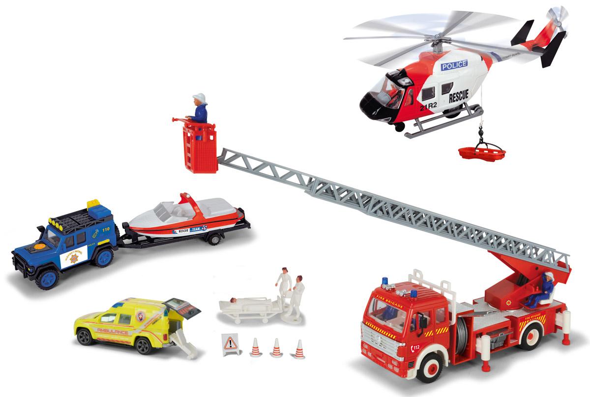 Dickie Toys Игровой набор Спасательная служба dickie toys игровой набор маяк
