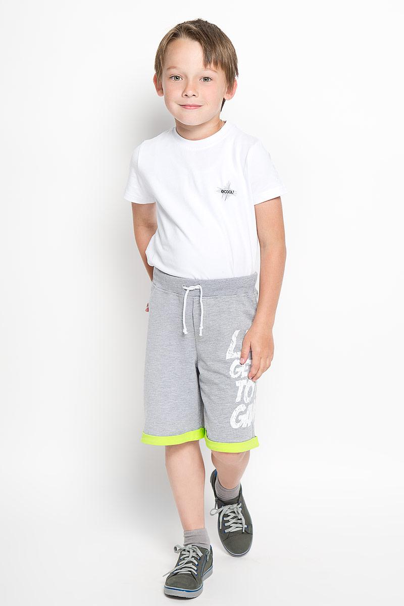 Шорты для мальчика Silver Spoon Casual, цвет: серый меланж. SCFSB-628-16405-808 мод.M2-001. Размер 134