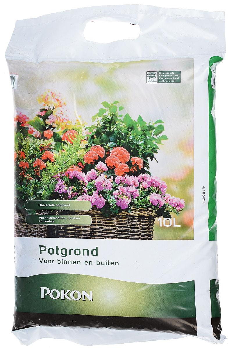 Почвогрунт для горшечных растений Pokon, универсальный, 10 л8711969005563Универсальный грунт Pokon составлен в соответствии с агротехническими нормами, содержит сбалансированный набор питательных веществ с микроэлементами для полноценного роста и развития растений. Подходит для выращивания всех видов комнатных, садовых и оранжерейных цветов. Увеличивает продолжительность цветения, улучшает декоративные свойства растения. Показатель pH: 5,2 - 6,2.Уважаемые покупатели!Обращаем ваше внимание на возможные изменения в дизайне упаковки. Качественные характеристики товара остались неизменными. Поставка осуществляется в зависимости от наличия на складе.