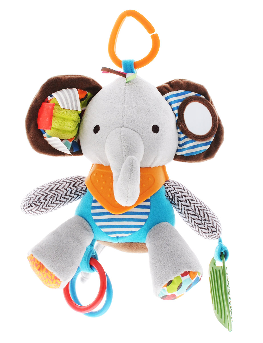 Skip Hop Развивающая игрушка-подвеска на коляску Слон б у коляску геоби катарина на авито