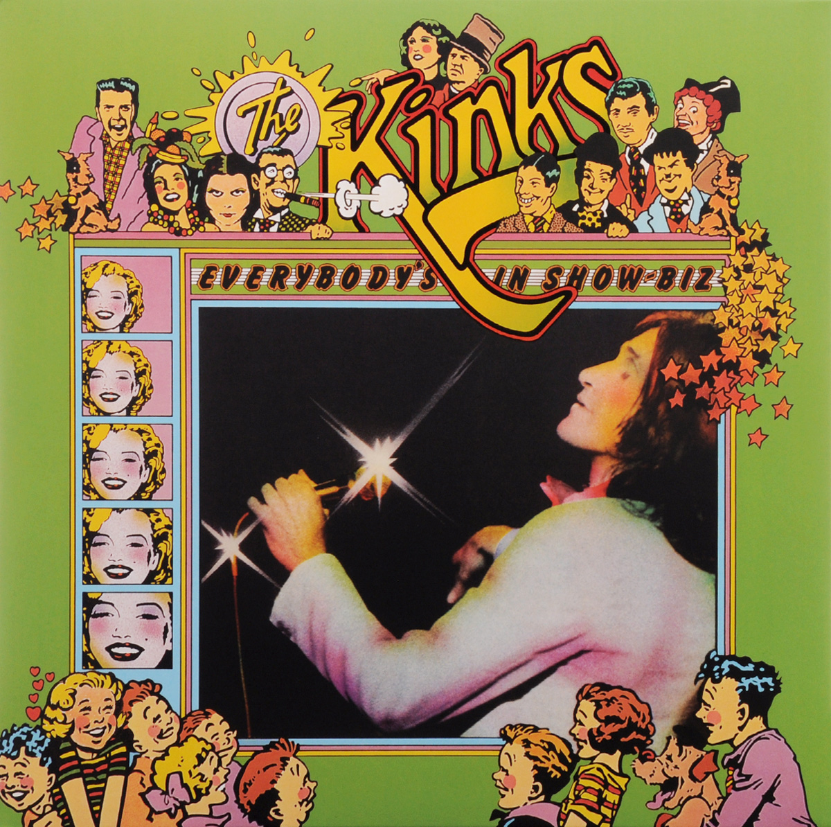 The Kinks. Everybody's In Show-Biz (3 LP) roxy music roxy music the studio albums limited edition 8 lp