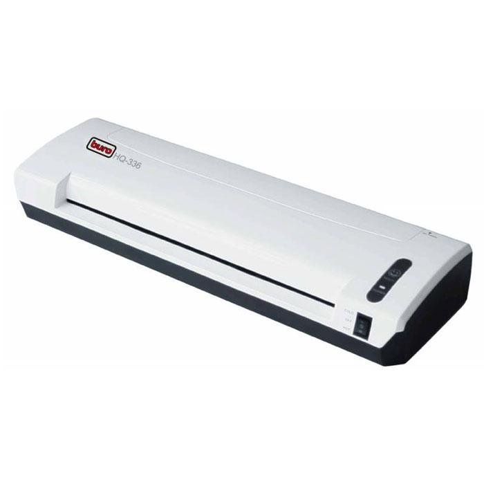 Ламинатор Buro HQ336HQ336Ламинатор Buro HQ336 предназначен для работы с документами максимального формата А3. Допускается использование пленок толщиной до 125 мкм. Нагревательная система состоит из 2 валов и обеспечивает высокое качество ламинирования. Ламинатор работает со стандартной бумагой, картоном и фотографиями.Объем единицы: 0,01011Холодное ламинированиеВозможность ламинировать фотографии на реверсТолщина пленки: 75 - 125 мкм