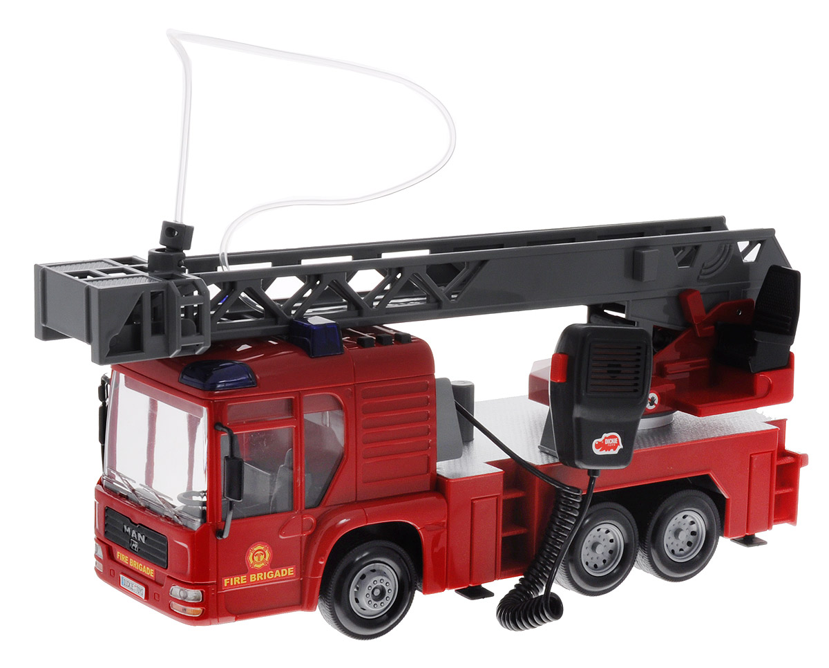 Dickie Toys Пожарная машина MAN рация