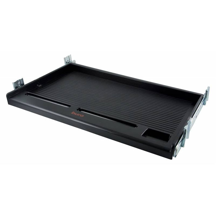 Подставка для клавиатуры Buro KB002B, Black - Офисная техника