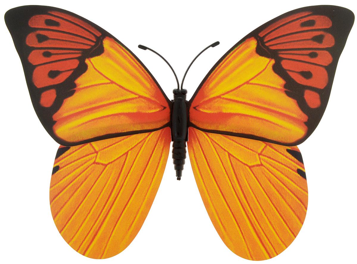 Декоративное украшение Village people Тропическая бабочка, с магнитом, цвет: красный, черный, оранжевый (13), 12 х 8 см68610_13Декоративная фигурка Village People Тропическая бабочка, изготовленная из ПВХ и магнита, это не только красивое украшение, но и замечательный способ отпугнуть птиц с грядок. Изделие выполнено в виде бабочки и оснащено магнитом, с помощью которого вы сможете поместить изделие в любом удобном для вас месте. Яркий дизайн изделия оживит ландшафтсада.