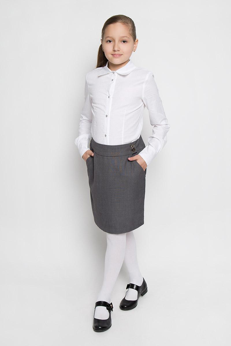 Блузка для девочки Nota Bene, цвет: молочный. AW15GS150A-1. Размер 122 платье tutto bene tutto bene tu009ewzwn18
