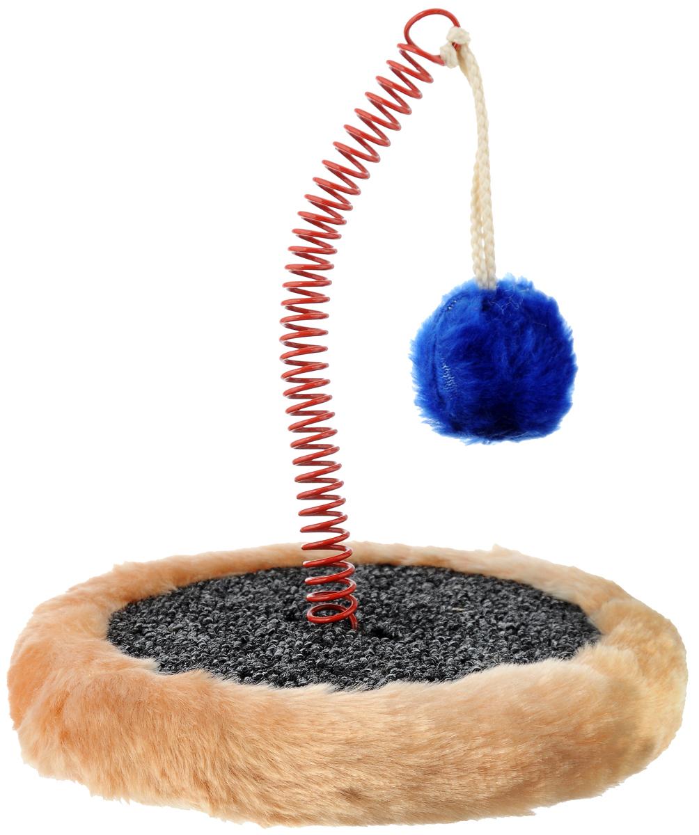 Когтеточка ЗооМарк Мини, с игрушкой, цвет: бежевый004_серый, бежевыйКогтеточка ЗооМарк Мини, изготовленная из деревянного каркаса, искусственного меха иковролина,поможет сохранить мебель иковры в доме от когтейвашего любимца, стремящегося удовлетворитьсвою естественную потребностьточить когти. Товар продуман в мельчайшихдеталях и, несомненно,понравится вашей кошке. Компактная когтеточка обладает поверхностью длястачивания коготков. Кроме того, во время царапания происходитнагрузка на мышечный аппарат, чтоявляется прекрасной физической тренировкой дляживотного. А также накогтеточке ЗооМарк Мини стачиваются старыеомертвевшие слои когтей, чтоблаготворно влияет на здоровье и настроениепитомца. Это намногобезопаснее, чем подстригать когти ножницами илиспециальными щипцами,рискуя повредить ногтевую пластину и причинитьживотному дискомфорт.Встроенная в когтеточку забавная игрушканесомненно привлечет вашегопитомца и подарит ему радость приятноговремяпрепровождения, а вашамебель будет цела и невредима.Диаметр основания: 18 см.Высота когтеточки: 25 см.