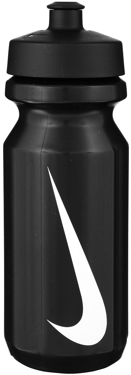Бутылка для воды Nike, цвет: черный, белый, 650 млN.OB.17.058.22Стильная бутылка для воды Nike, изготовленная из полиэтилена и ТПУ, оснащена крышкой, которая плотно и герметично закрывается. Широкое отверстие позволяет удобно наливать коктейли и добавлять лед. Бутылка оснащена просто открывающимся и, в то же время, надежным защитным колпачком. Подходит для велосипедных держателей.