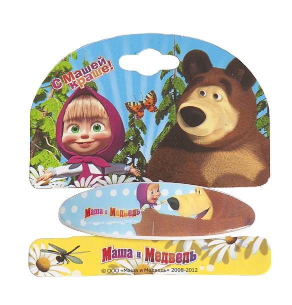 Маша и медведь Заколка-автомат Дружба331040Заколка-автомат для волос Маша и медведь Дружба подчеркнет красоту прически вашей малышки. Заколочка выполнена из металла и ПВХ, и оформлена декоративным элементом с изображением Маши, героини популярного мультсериала Маша и медведь.