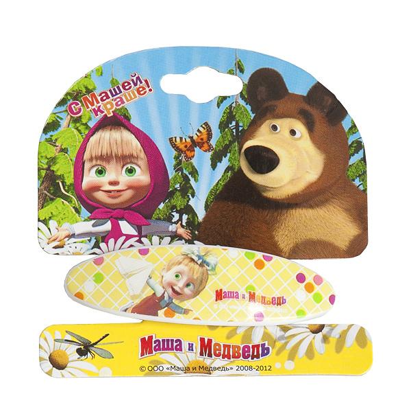 Маша и медведь Заколка-автомат Самолетик331041Заколка-автомат для волос Маша и медведь Самолетик подчеркнет красоту прически вашей малышки. Заколочка выполнена из металла и ПВХ, и оформлена декоративным элементом с изображением Маши, героини популярного мультсериала Маша и медведь.