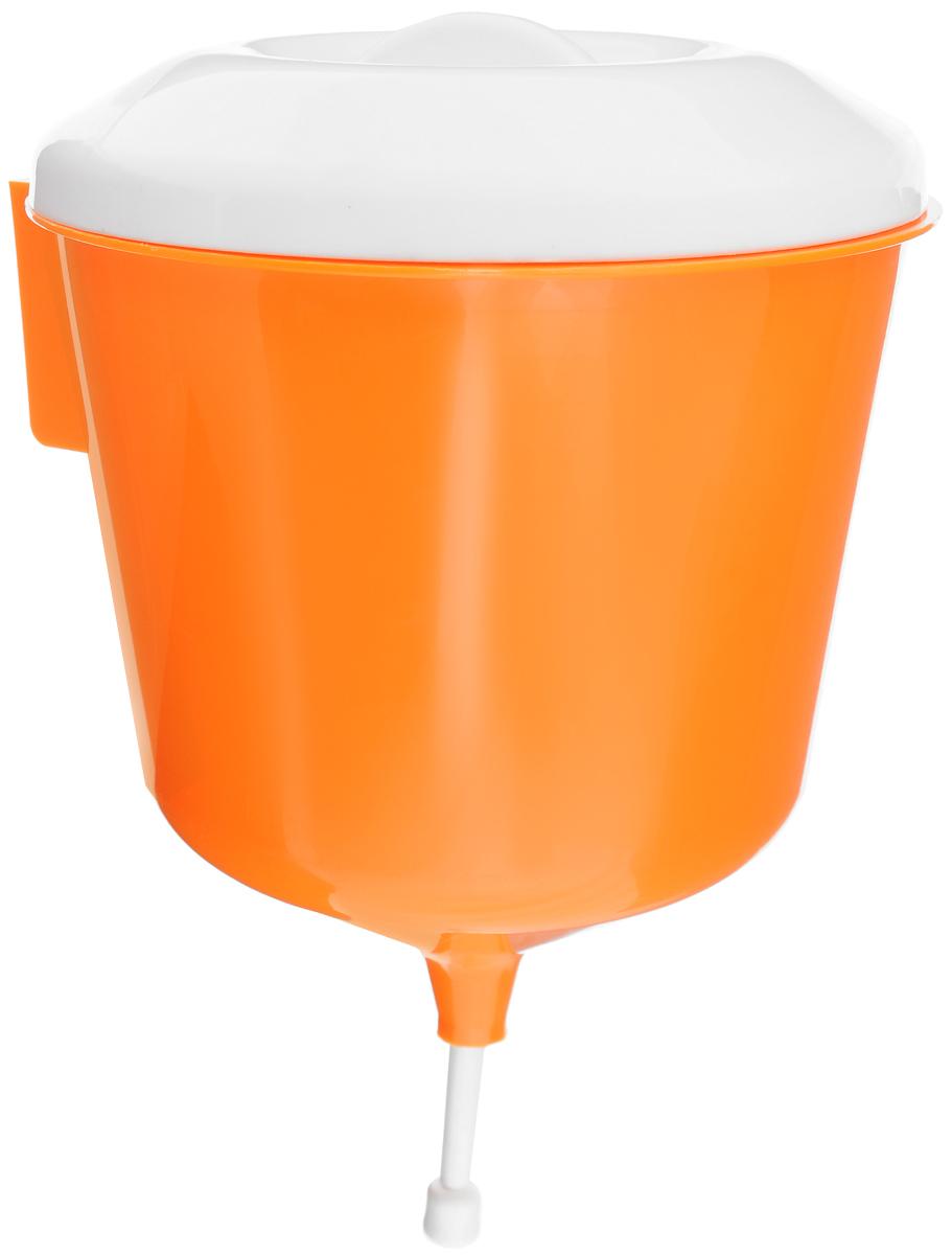 Рукомойник Альтернатива Дачник, цвет: оранжевый, белый, 3 лМ1157_оранжевый, белыйРукомойник Альтернатива Дачник изготовлен изпластика. Он предназначен для умывания в саду или надаче, а также отлично впишется в окружающуюобстановку. Петли обеспечивают вертикальноекрепление рукомойника с помощью шурупов (в комплектне входят). Рукомойник оснащенкрышкой, которая предотвращает попадание мусора. Рукомойник Альтернатива Дачник надежный иудобный в использовании. Диаметр рукомойника (по верхнему краю): 19 см.Высота рукомойника (с учетом крышки): 30 см.