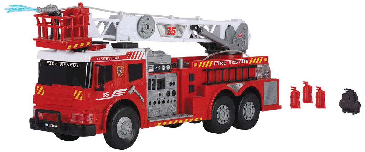 Dickie Toys Пожарная машина с водометом Fire Brigade dickie toys dickie toys пожарная машина с водой 30 см