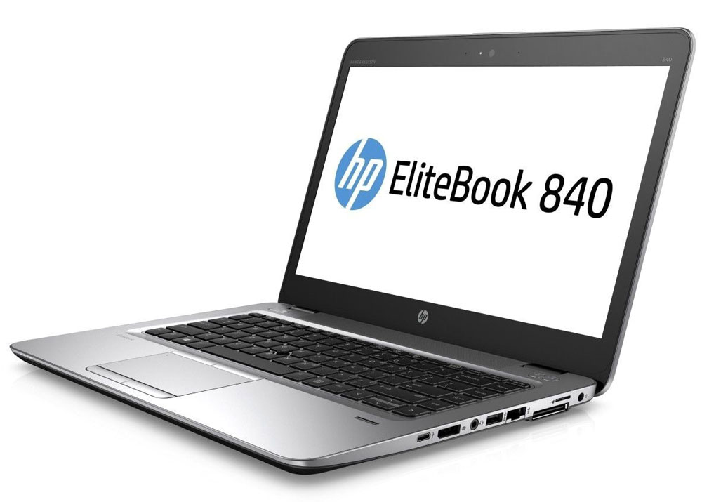 HP EliteBook 840 G3, Silver Black Metal (T9X31EA)T9X31EAНевероятно тонкий и легкий ноутбук HP EliteBook 840 G3 обеспечивает производительность корпоративного уровня. Это отличное решение для творчества, общения и совместной работы как в офисе, так и за его пределами.Идеальное решение для мобильной работы, которое обеспечивает максимальную надежность, высокую производительность и мощные средства работы с графикой в управляемых ИТ-средах по сравнению с другими устройствами своего класса.Мобильная мощностьЭтот мощный ноутбук на базе ОС Windows 7 Pro оснащен аккумулятором повышенной емкости, процессором Intel, оперативной памятью DDR4 и твердотельным накопителем для эффективной работы с ресурсоемкими бизнес-приложениями и быстрого доступа к данным.Тонкий корпус со всеми необходимыми разъемамиВ корпусе ноутбука HP EliteBook 840 G3 есть все необходимые разъемы, так что вам больше не придется беспокоиться о переходниках. Ультратонкий и легкий ноутбук толщиной всего 18,9 мм обладает разъемами VGA, DisplayPort, RJ-45, USB, USB-C, а также поддерживает подключение док-станций.Высокий уровень безопасности и мощные средства управленияHP Sure Start with Dynamic Protection - первая на рынке технология автоматического восстановления BIOS, которая проверяет состояние BIOS каждые 15 минут и при необходимости выполняет автоматическое восстановление. Она обеспечивает надежную защиту устройства благодаря функциям обнаружения угроз и восстановления после атак вредоносного ПО.Создан для совместной работыЗабудьте о стационарных телефонах: ноутбук HP EliteBook 840 G3 с аудиосистемой Bang & Olufsen и ПО подавления шума HP Noise Reduction обеспечивает высокое качество звука для таких приложений, как Skype для бизнеса.Вам ничто не должно мешатьКлавиатура HP Premium создана для максимально комфортной и эффективной работы. Этот ноутбук сочетает в себе скорость и вместительность, так что вам не придется использовать внешние устройства хранения. Подходит для использования вне офисаНоутбук HP Elite
