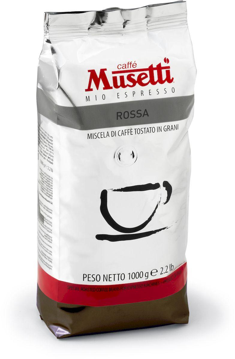 Musetti Rossa кофе в зернах, 1 кг блузка moda rossa