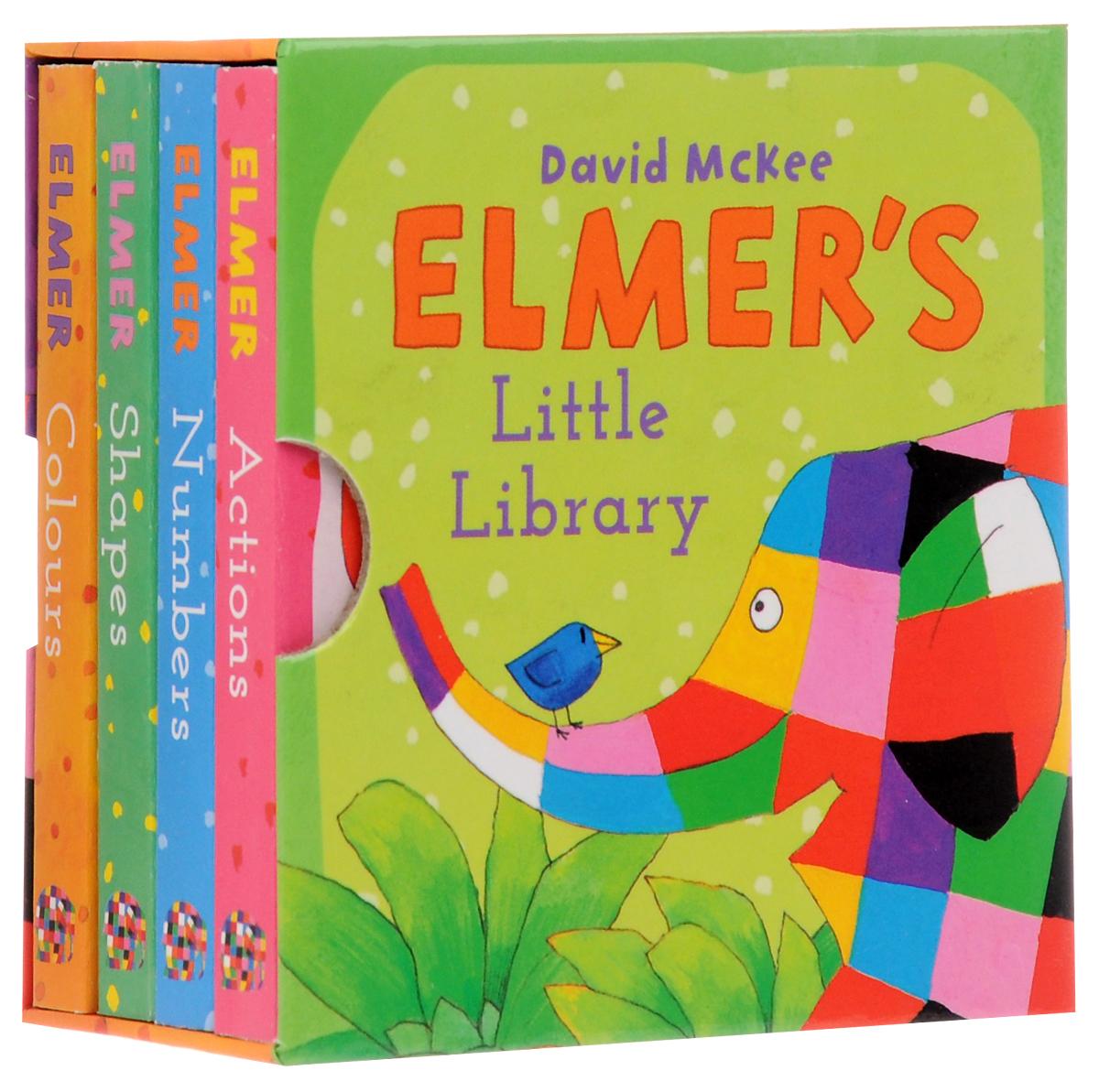 Купить Elmer's Little Library (комплект из 4 миниатюрных книг)
