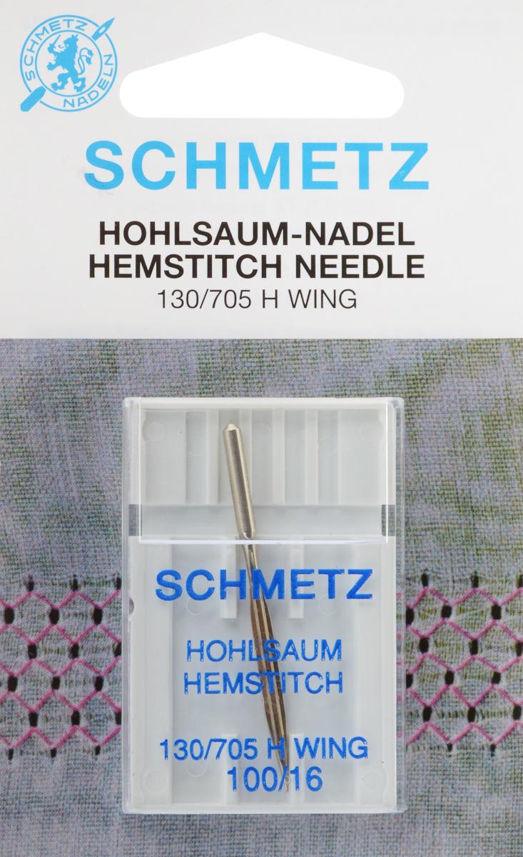 Игла для машинной вышивки Schmetz, для техники мережка, №10022:20.2.SESСпециальная игла Schmetz, выполненная из никеля, подходит для бытовых вышивальных машин всех марок. Игла предназначена для выполнения вышивки в технике мережка на велюре. Имеет цветовой код.В комплекте пластиковый футляр для переноски и хранения.Система иглы: 130/705 H WING.Номер иглы: 100/16.