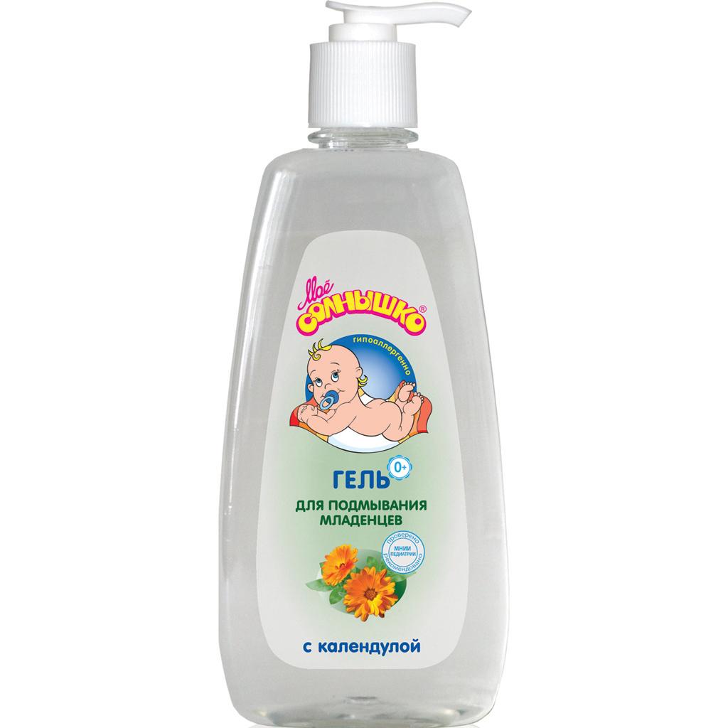Мое солнышко Гель для подмывания младенцев с календулой 400 мл наша мама гель для подмывания младенцев 300 мл