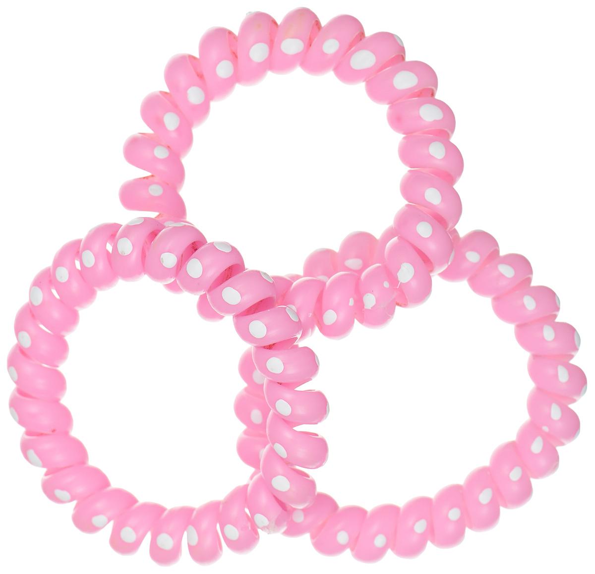 Резинка-браслетдляволос Mitya Veselkov, цвет: розовый, 3 шт. REZ2-NEZHPIN резинки mitya veselkov резинка для волос