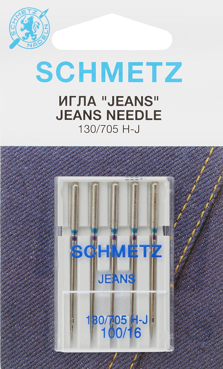 Иглы для бытовых швейных машин Schmetz, для джинсы, №100, 5 шт22:30.FB2.VESСпециальные иглы Schmetz, выполненные из никеля, подходят для бытовых швейных машин всех марок. В набор входят иглы, которые идеально подходят для всех джинсовых материалов. Каждая игла имеет цветовой код.В комплекте пластиковый футляр для переноски и хранения.Система игл: 130/705 H-J.Номера игл: 100/16.