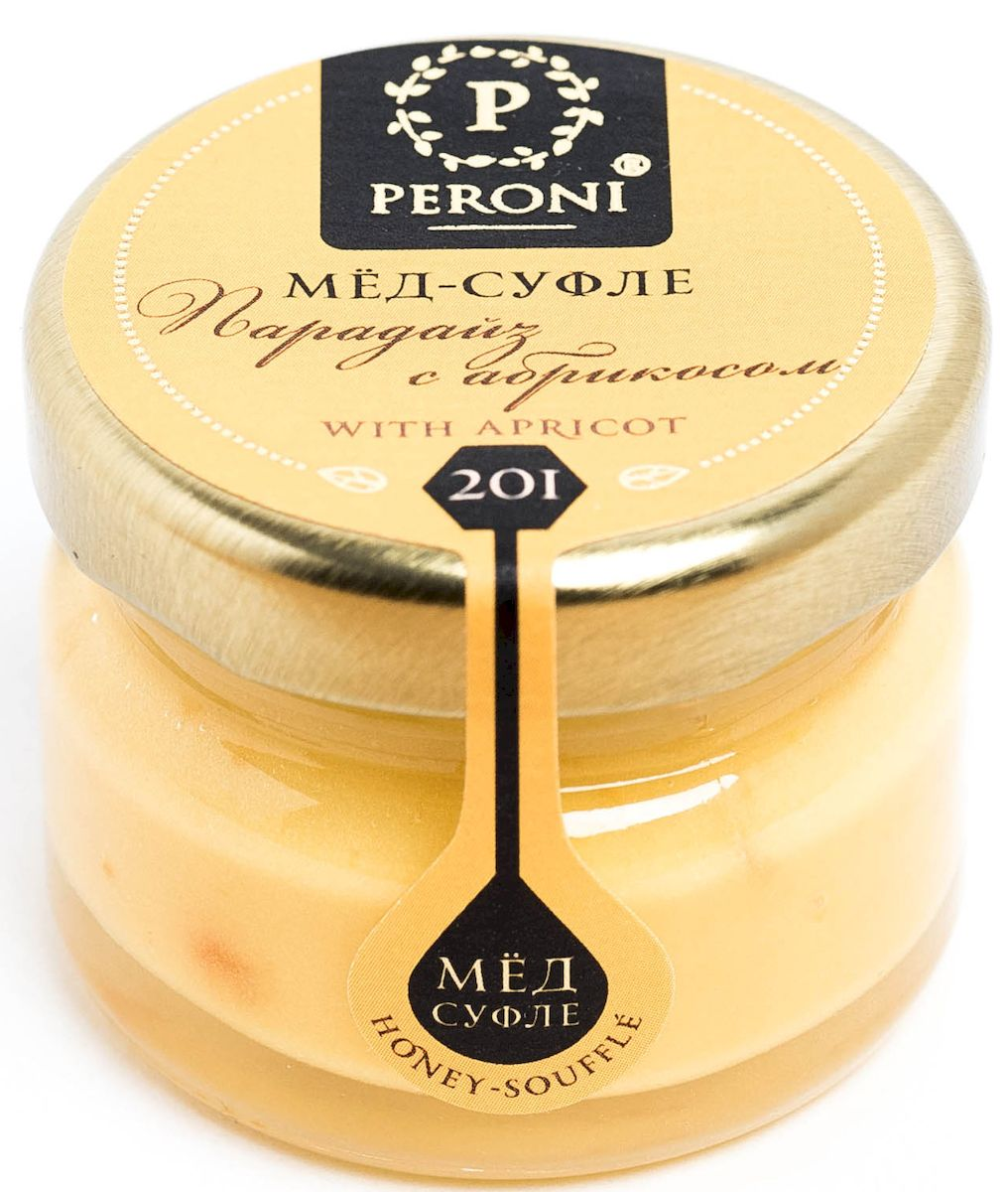 Peroni Парадайз с абрикосом мёд-суфле, 30 г peroni кедровый орешек мёд суфле 220 г