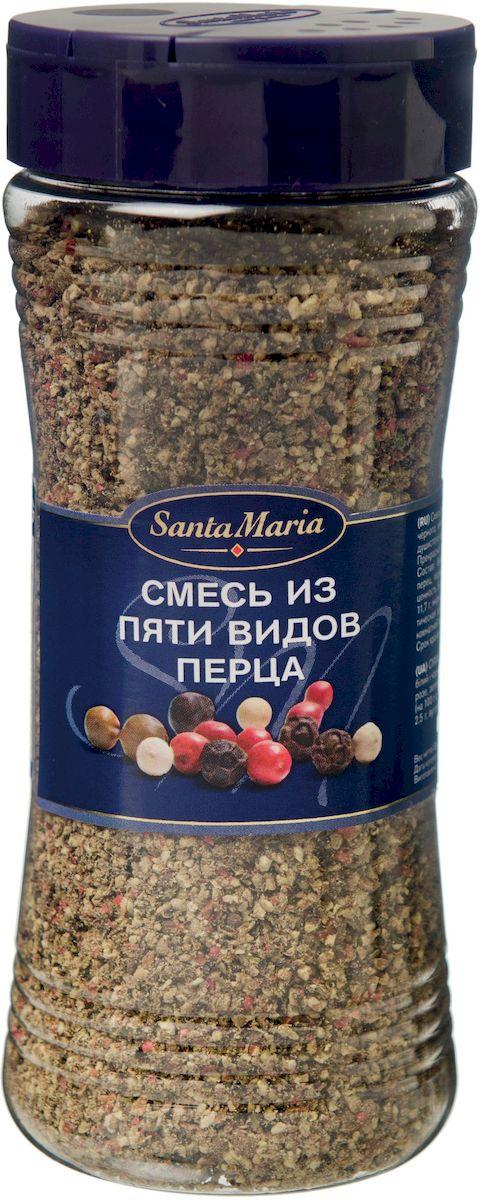 Santa Maria Смесь из пяти видов перца, 190 г веда прия д д 108 вегетарианских блюд