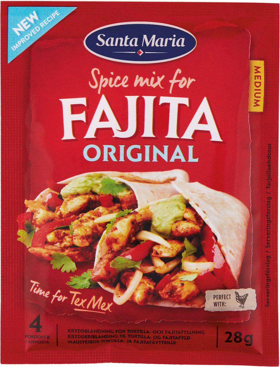 Santa Maria Приправа Фахита, 28 г веда прия д д 108 вегетарианских блюд