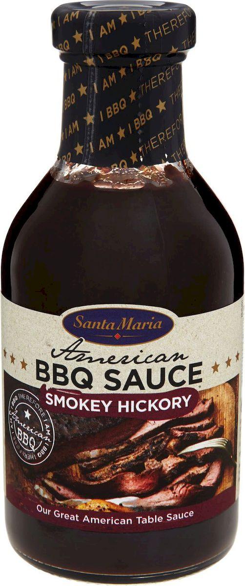 Santa Maria соус для шашлыка и гриля с копченым ароматом, 470 г