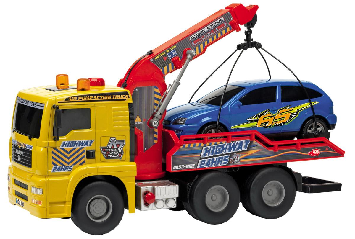 Dickie Toys Эвакуатор с машиной